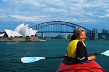 Kayaking, Sydney Harbour, Australie