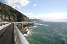 Sea Cliff Bridge, Nouvelle Galles du Sud, Australie