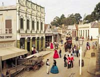 Sovereign Hill, Victoria, Australie