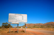 Gibb River Road, Kimberleys, Australie